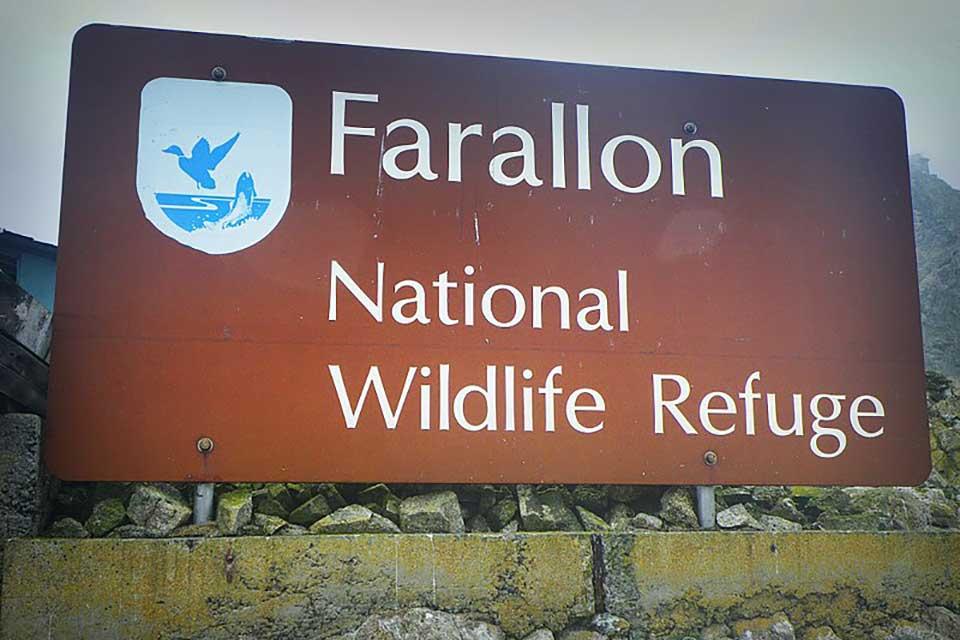 Farallon Island NWR Sign - Pacific Southwest Region USFWS CCA 2.0